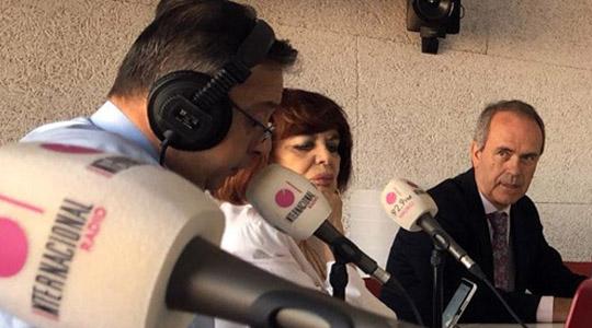 Entrevista radiofónica con Javier Algarra